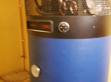 Toplotna črpalka za pripravo tople sanitarne vode - Solkan